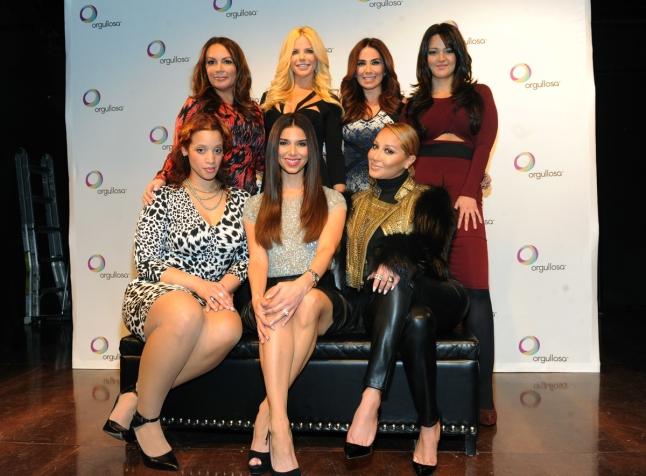 Dascha Polanco, Roselyn Sanchez, Adrienne Bailon, Angie Martinez, Alexia Echevarria, Laura Posada, Paula Garces